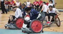 Wheelchair Rugby Metro Cup 2015