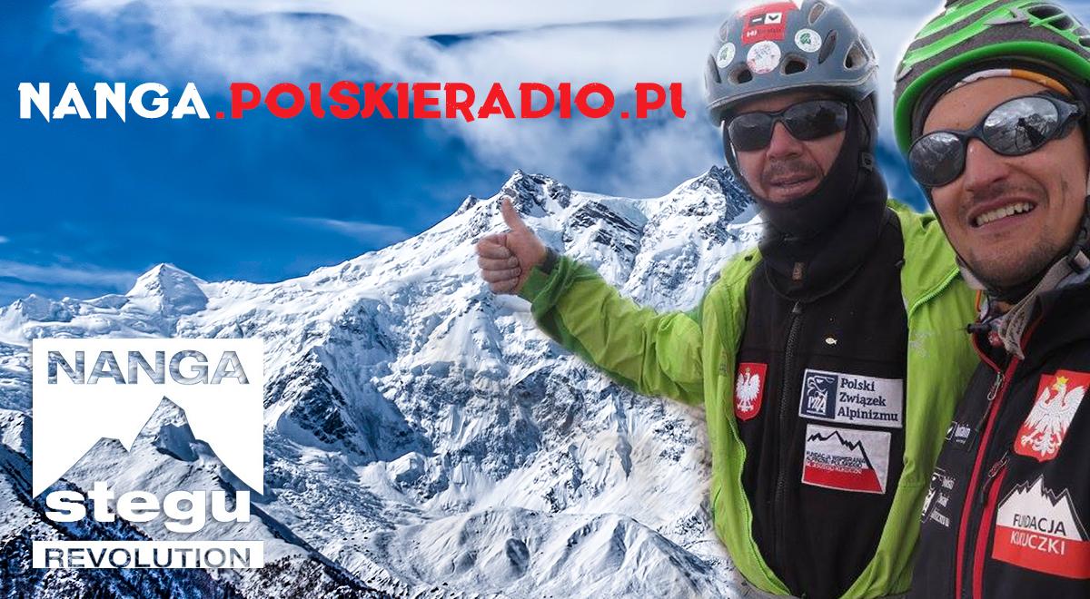 Portal PolskieRadio.pl kibicuje i patronuje wyprawie Adama Bieleckiego i Jacka Czecha na Nanga Parbat