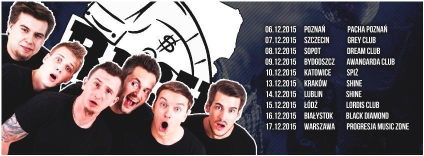 Rozkład jazdy tegorocznej odsłony Rich Tour/grafika/Czwórka