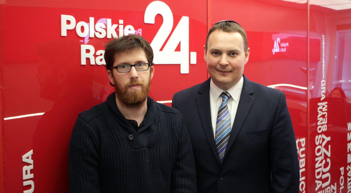 Matan Shefi oraz Stas Wojciechowicz w Polskim Radiu 24 Foto: PR24/WT
