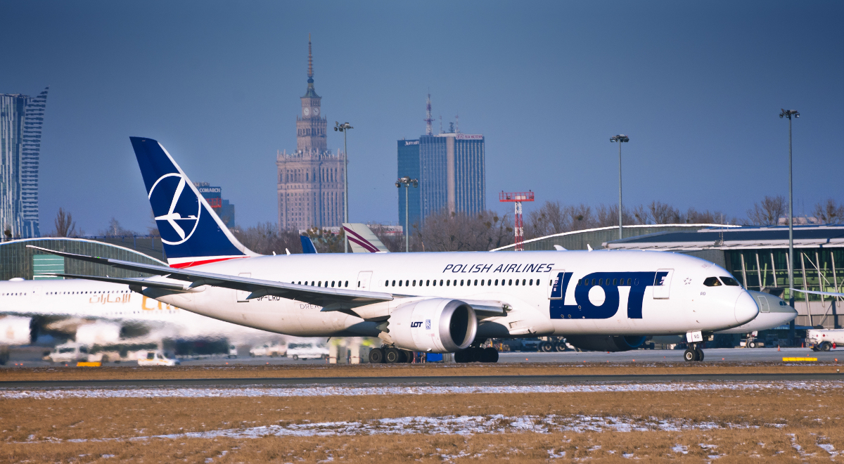 Boeing 787 Dreamliner PLL LOT