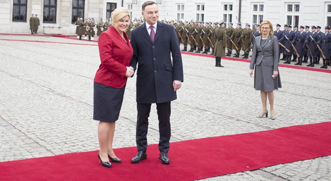 Wizyta prezydent Chorwacji - Informacyjna Agencja Radiowa ...