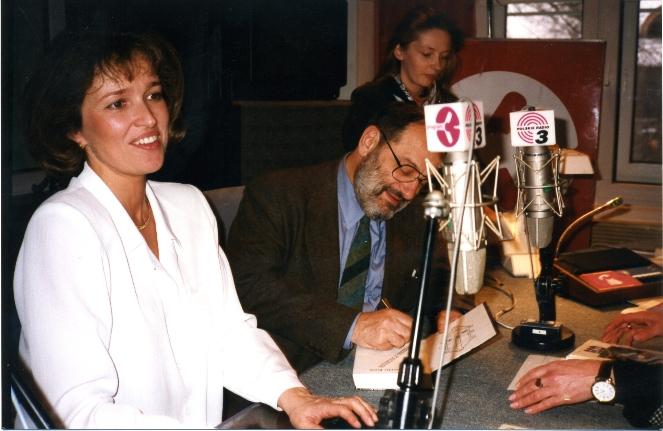 Umbero Eco w Trójce, foto: archiwum redakcji