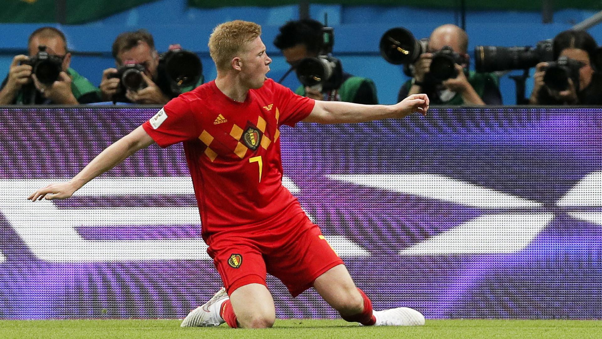 f3edd97dd Rosja 2018: Wspaniały mecz w Kazaniu. Belgia wyeliminowała Brazylię i zagra  z Francją o finał [23. DZIEŃ MUNDIALU] - Rosja 2018 - polskieradio24.pl