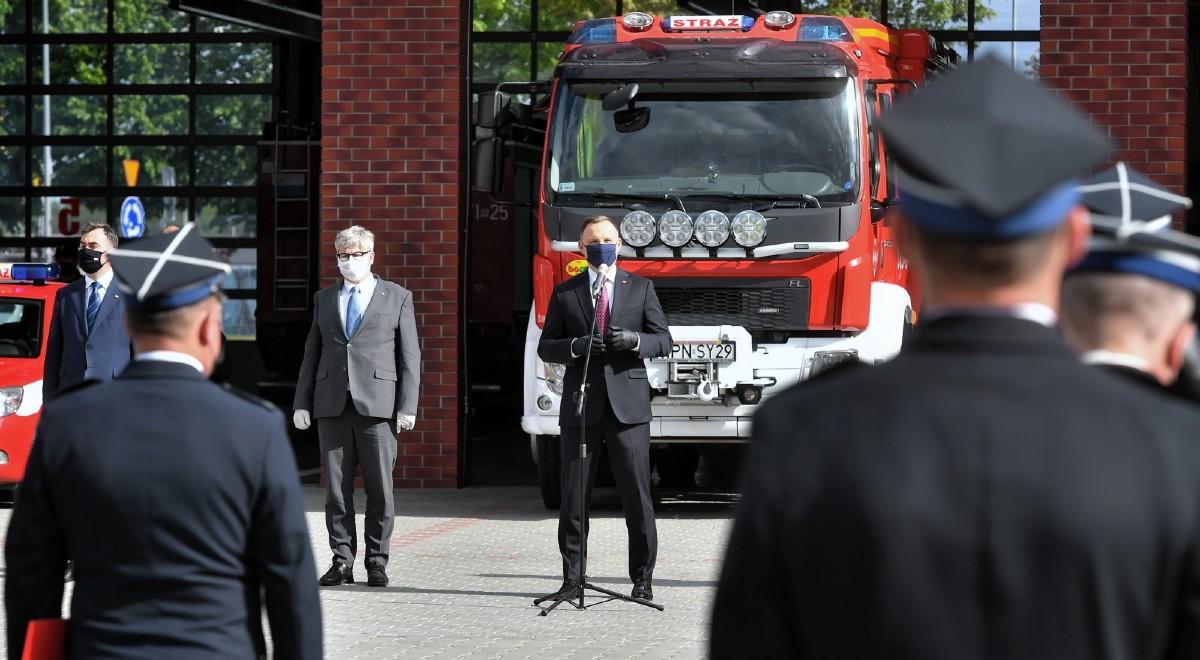 Prezydent: służba strażaków OSP ma wielkie znaczenie dla ...