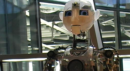 Robot w Centrum Nauki Kopernik