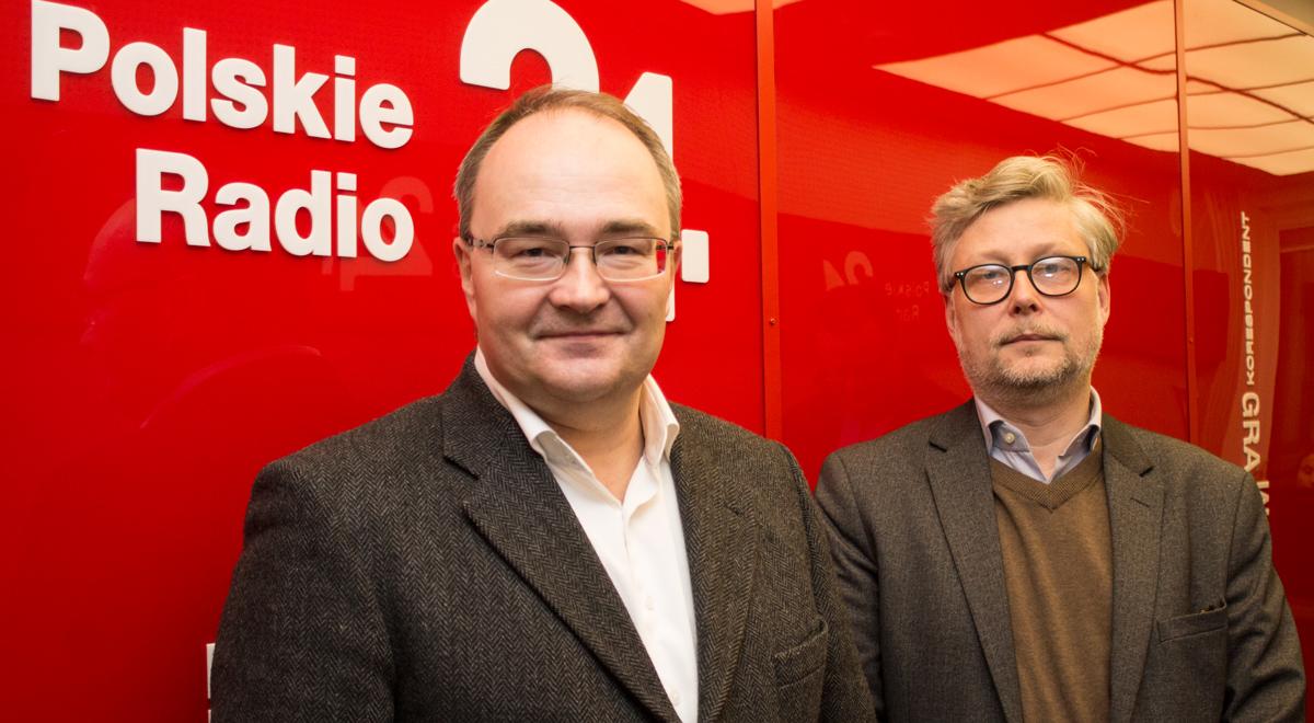 Od lewej: Krzysztof Rak i dr Marek Cichocki; Foto: PR24/JW