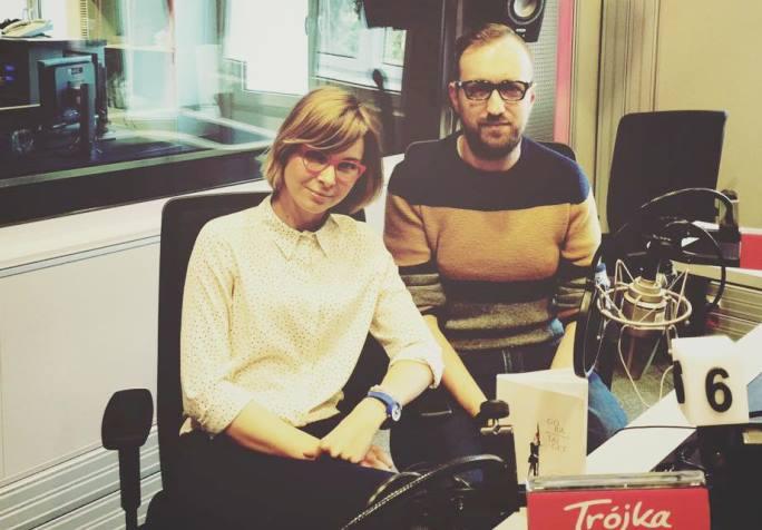Anna Dziewit-Meller i Michał Nogaś w studiu Trójki (foto: Polskie Radio)