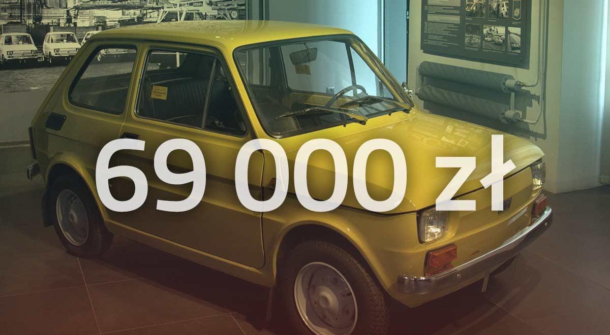 Fiat 126p BIS Maluch fabrycznie nowy | KlasykaGatunku.pl