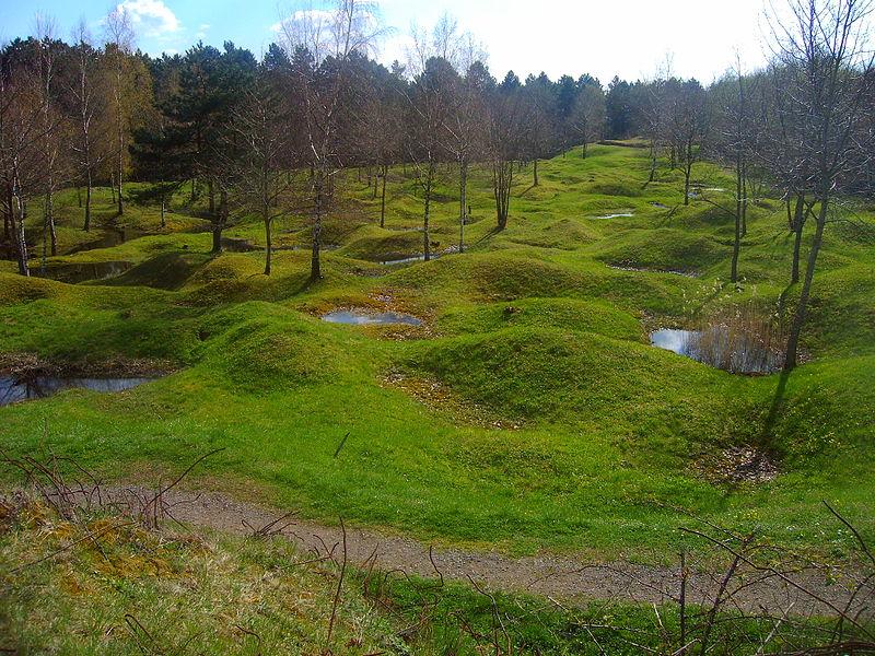 Miejsce bitwy pod Verdun współcześnie, Wikipedia/dp (2005)