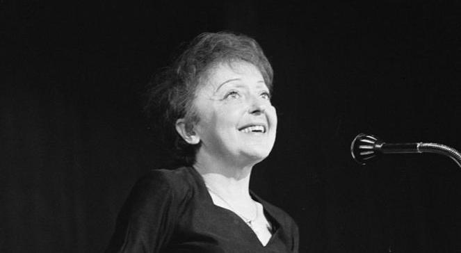 Edith Piaf, aut.: Nationaal Archief, WikipediaCreativeCommons (1962)