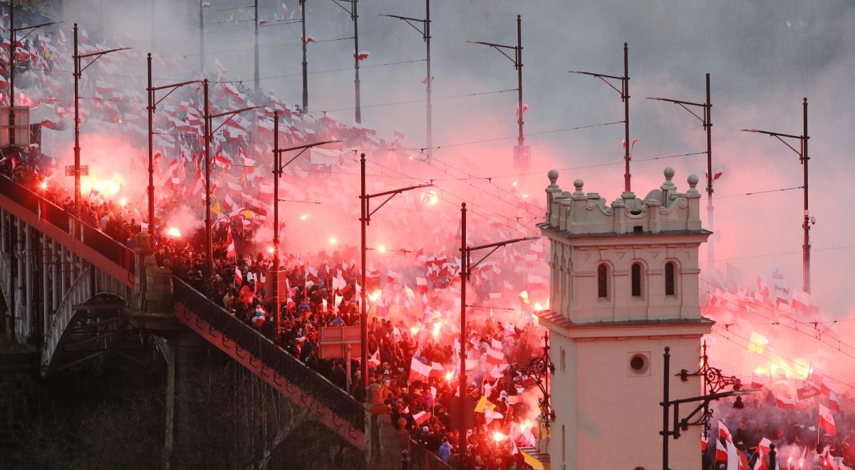 Ukáží nám to i naše média? 100 000 vlastenců ve Varšavě, videa z dnešního Marsz niepodległości.