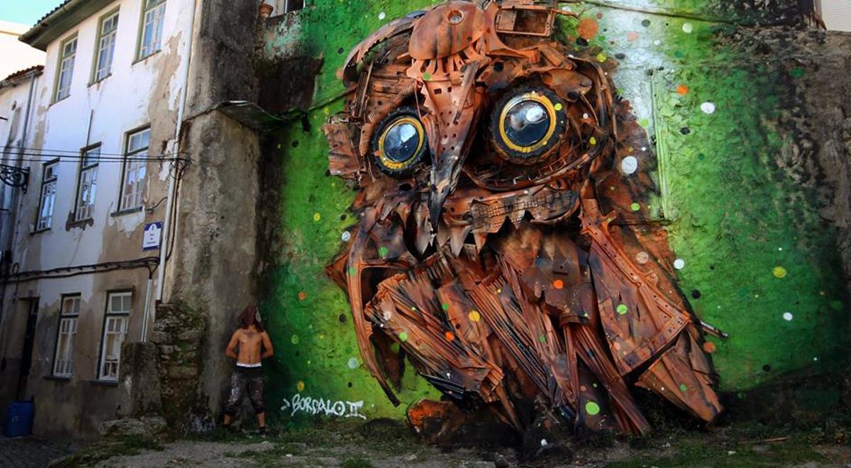 Ekologiczne rzeźby zwierząt mają po kilka metrów wysokości