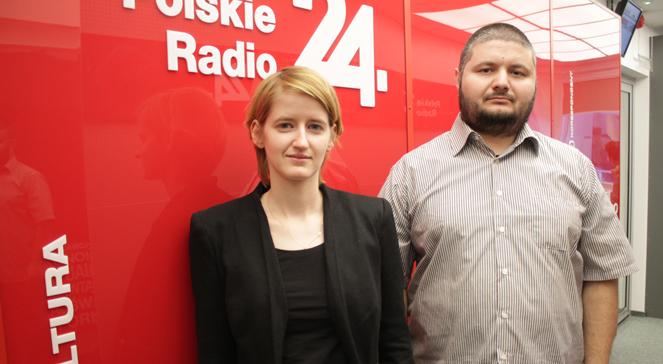 Natalia Roszkowska z Muzeum Niepodległości i historyk Michał Cieślak. foto/PR24
