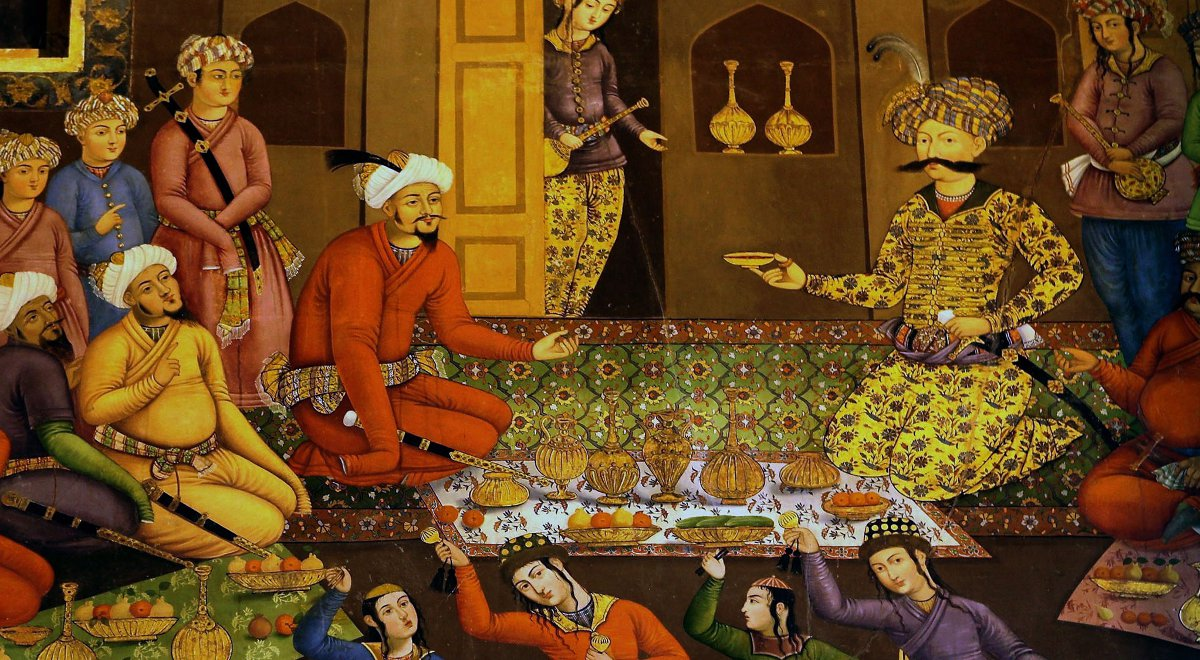 Znalezione obrazy dla zapytania sztuka perska
