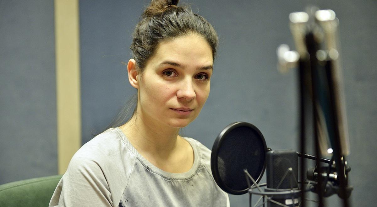 Reżyserka Agnieszka Smoczyńska w studiu Polskiego Radia