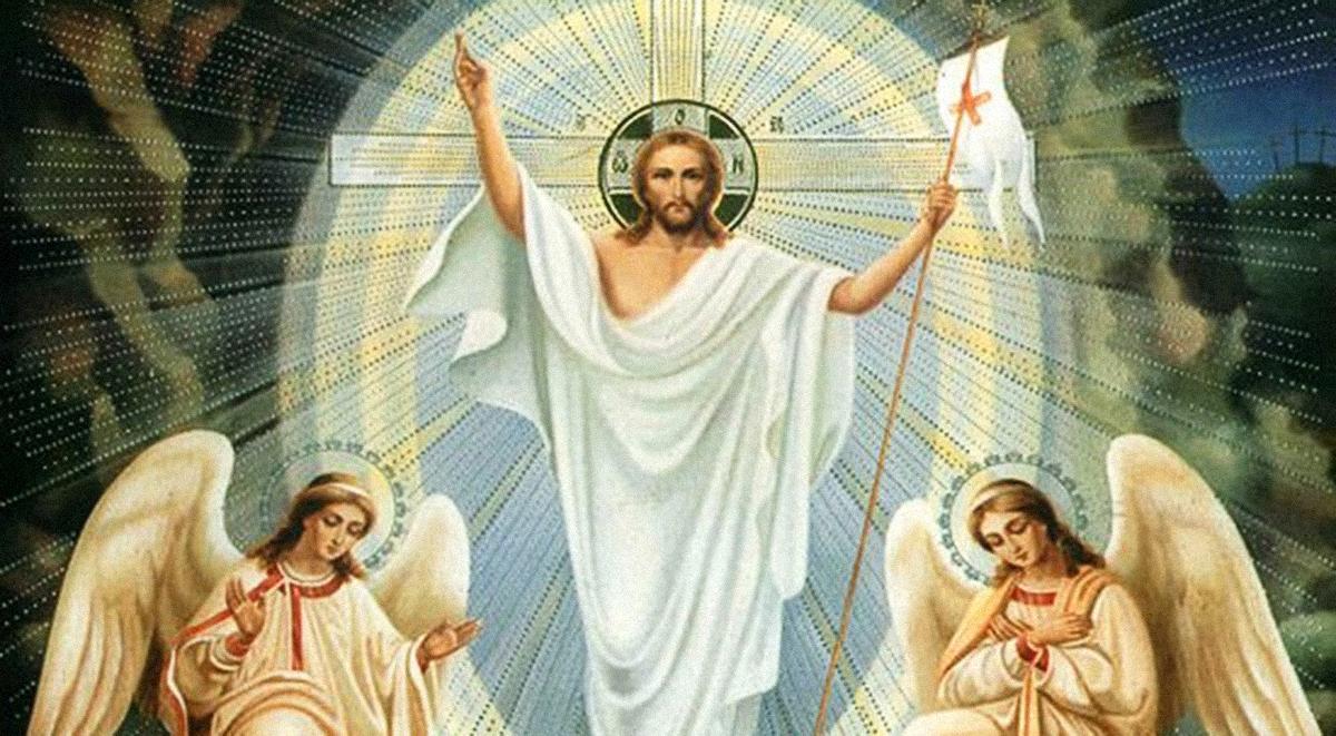 Znalezione obrazy dla zapytania zmartwychwstanie pańskie obrazki