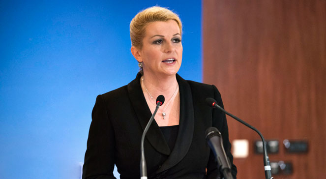 Prezydent Chorwacji Kolinda Grabar-Kitarović/fot. flickr/N.A.T.O.