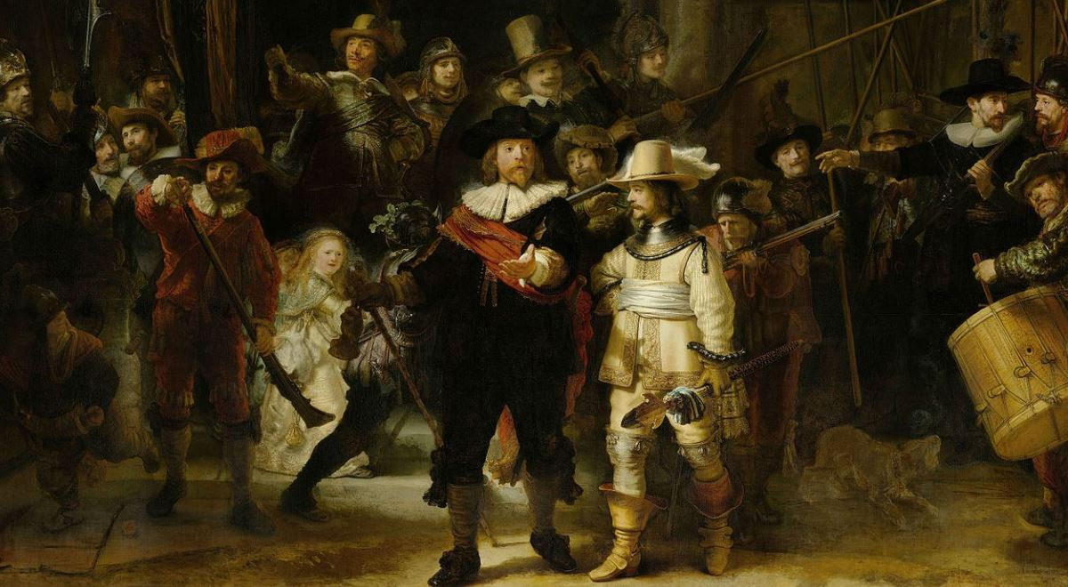 Obraz Rembrandta Którego Tytuł Jest Całkowicie Przypadkowy Dwójka