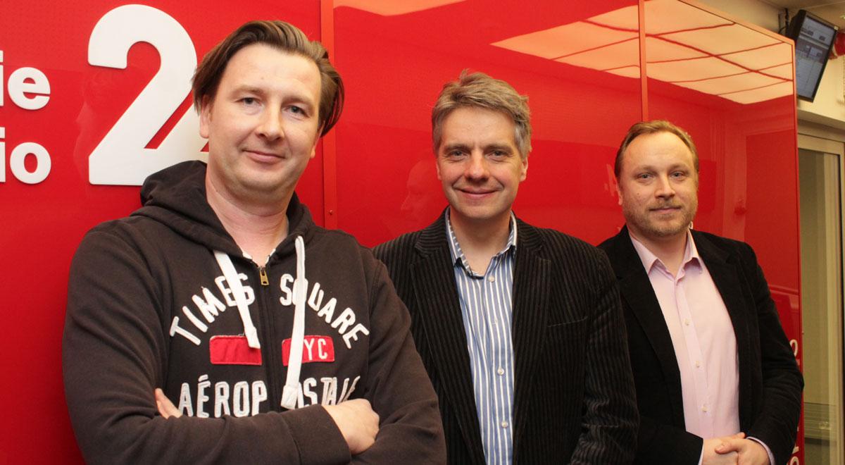 Marcin Flieger, Tomasz Parol i Łukasz Zboralski/fot.PR24/MS