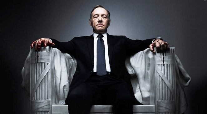 Kevin Spacey w serialu House Of Cards