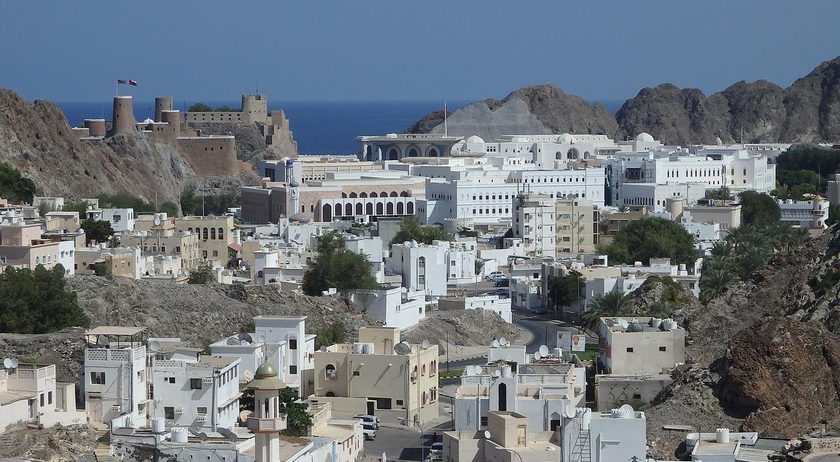 Maskat, stolica Omanu