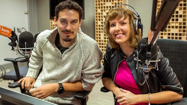 Tomasz Michniewicz i Magda Żelazowska/fot. Małgorzata Sas (Polskie Radio)