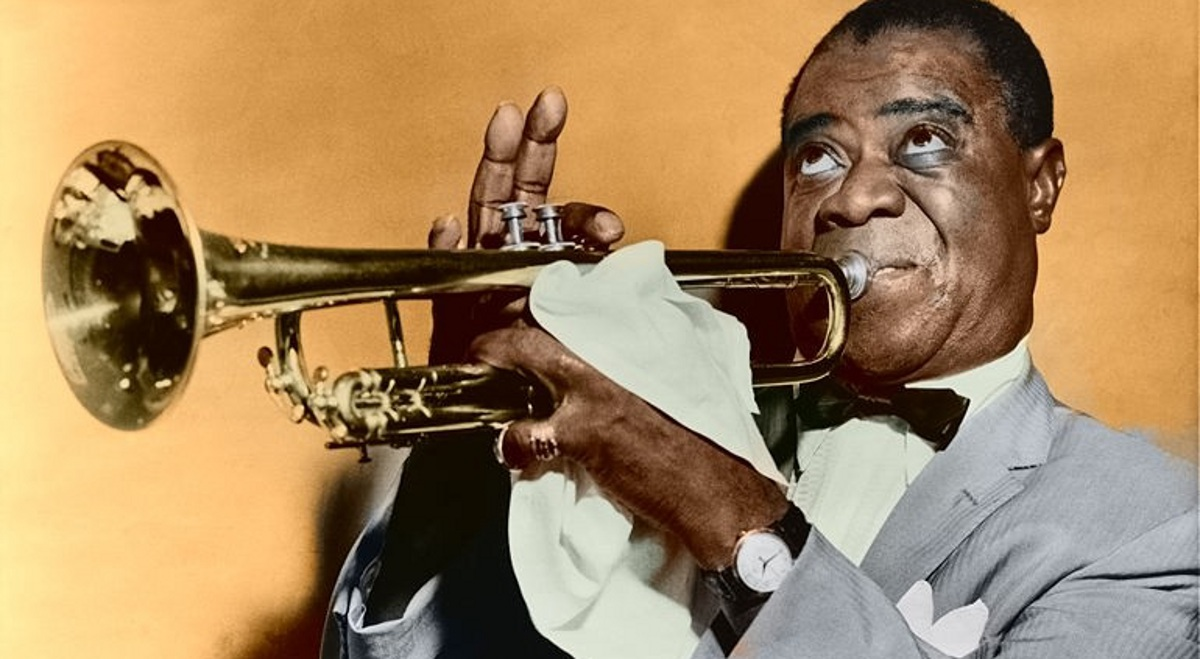 Louis Armstrong i jego What A Wonderful World w tym roku na miejscu 40.