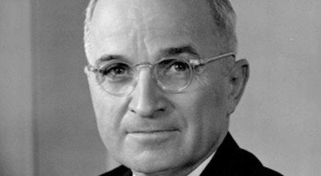 Harry Truman fot. Wikimedia Commons.