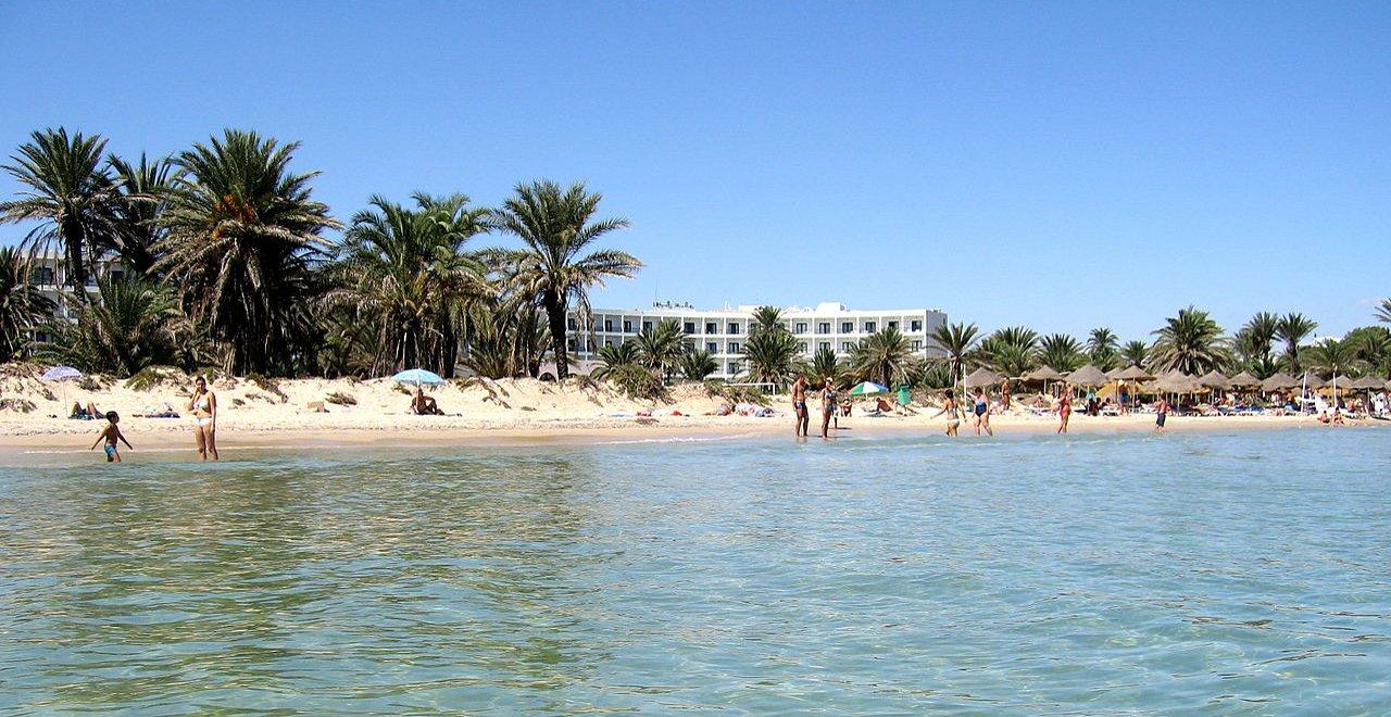 Фото на пляже туниса