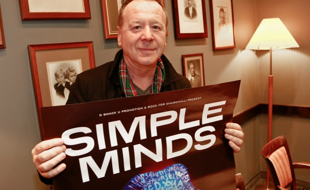 Jim Kerr, wokalista Simple Minds