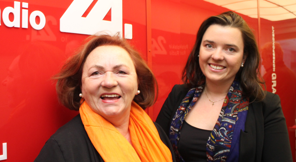 Katarzyna Napiórkowska i dr Justyna Napiórkowska; Foto: PR24/JW