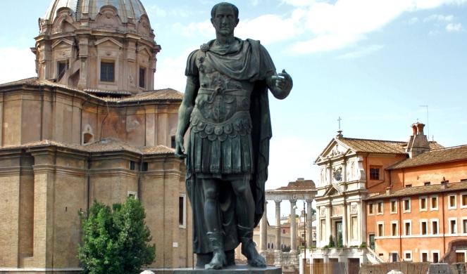 Juliusza Cezara Pomnik Juliusza Cezara w