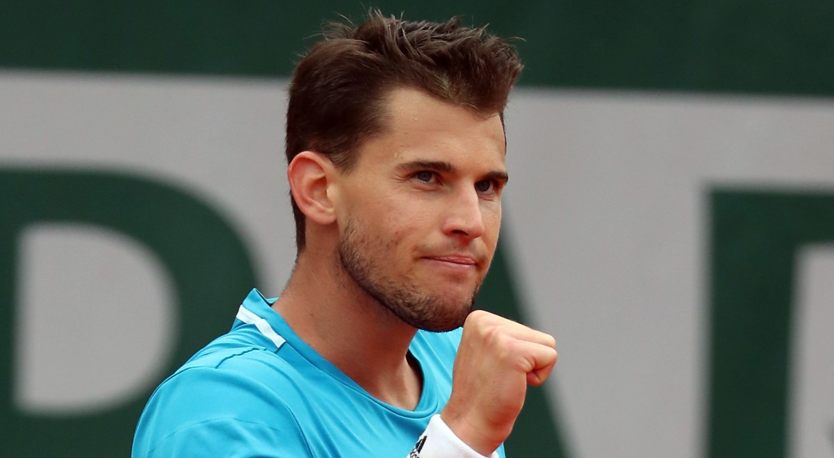 Dominic Thiem w finale French Open