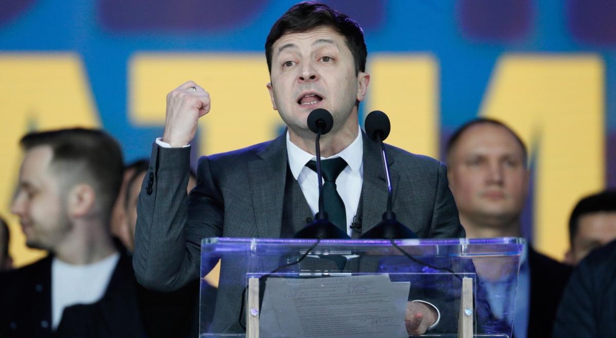 c532e0b830f9be Wybory prezydenckie na Ukrainie. Kontrowersyjna wypowiedź Wołodymyra  Zełenskiego - Wiadomości - polskieradio24.pl