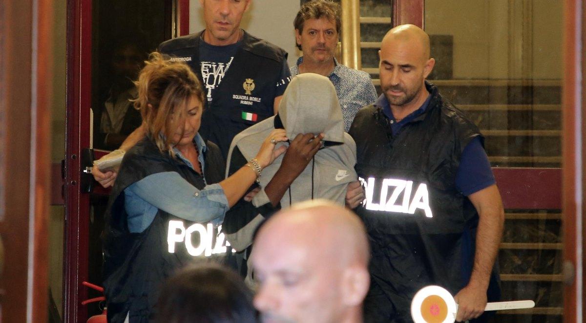 Ujęcie przywódcy gangu z Rimini