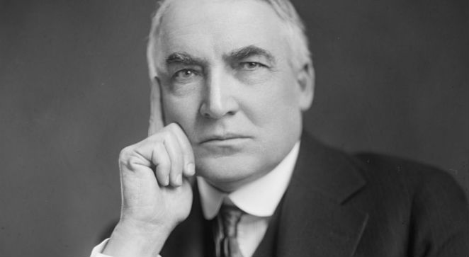 Warren G. Harding, fot. Harris & Ewing, źr. Wikimedia Commons/dp