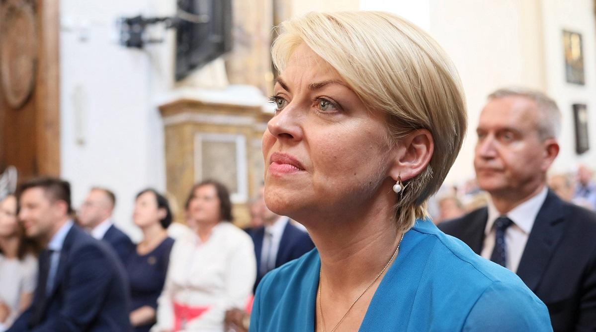 Andżelika Borys, pictured in 2018.    Photo: PAP/Leszek Szymański