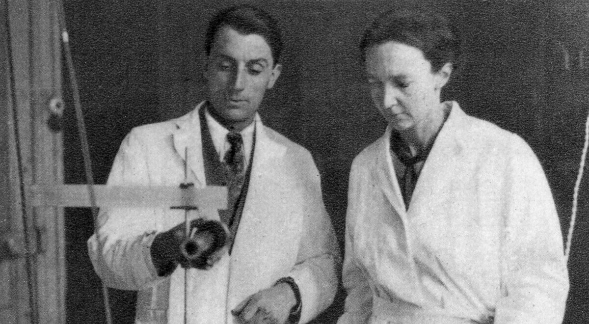 Frdric Joliot-Curie and Irne Joliot-Curie