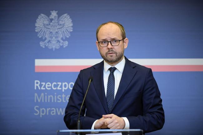 Polands Deputy Foreign Minister Marcin Przydacz.