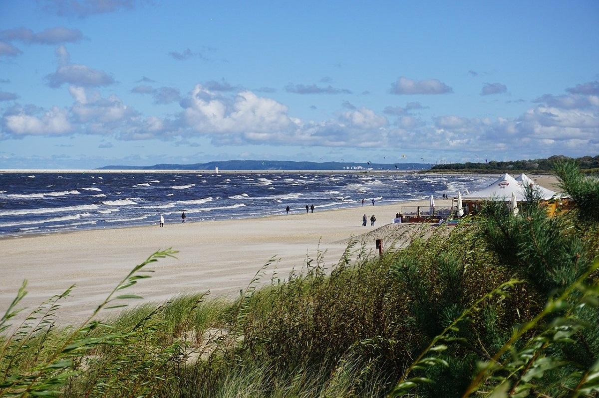 Сьвиноуйсьце, пляж. Фото: www.pixabay.com