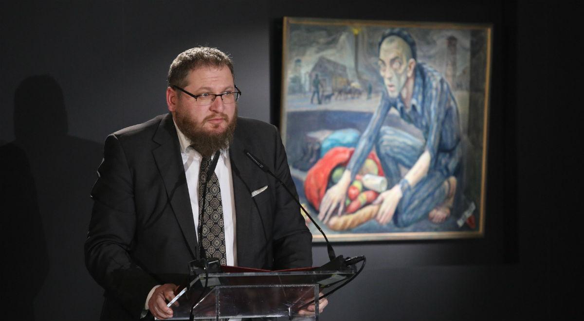 Dyrektor Muzeum Auschwitz Piotr Cywiński
