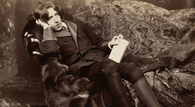 Oscar Wilde fot. Wikimedia Commons