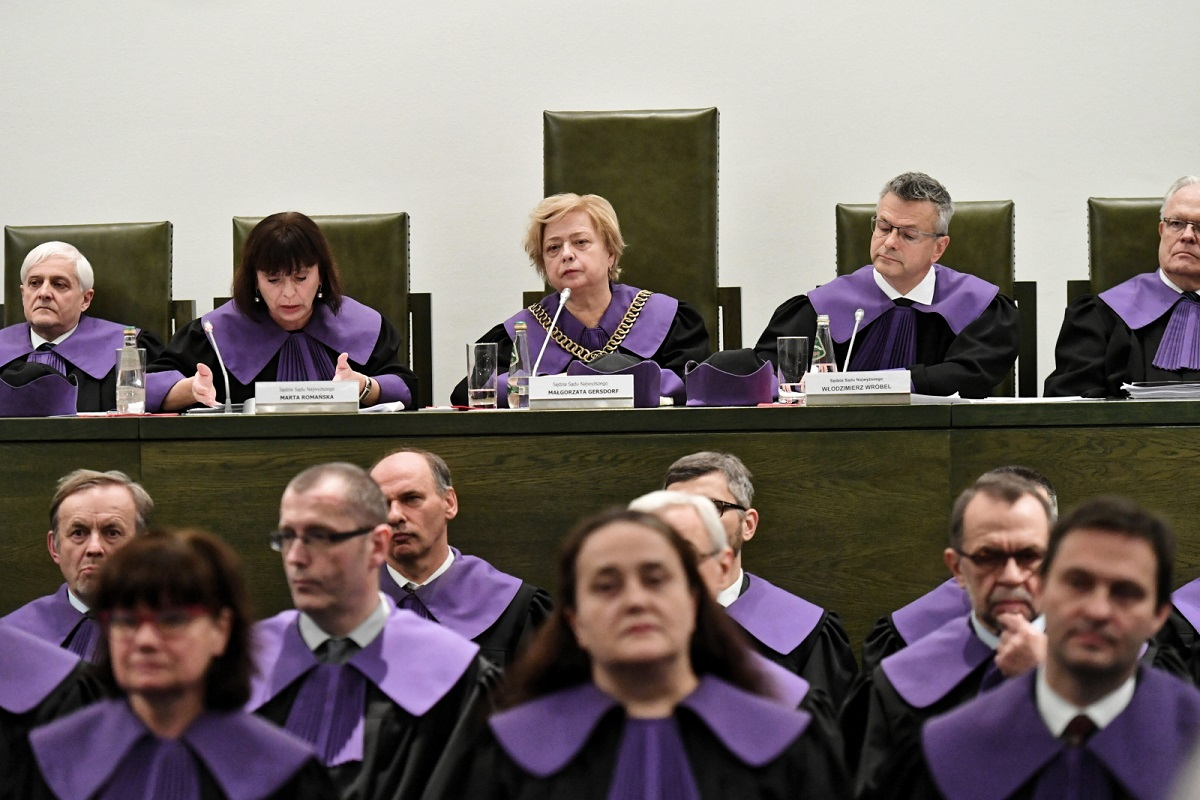 Polish Supreme Court judges convene on Thursday