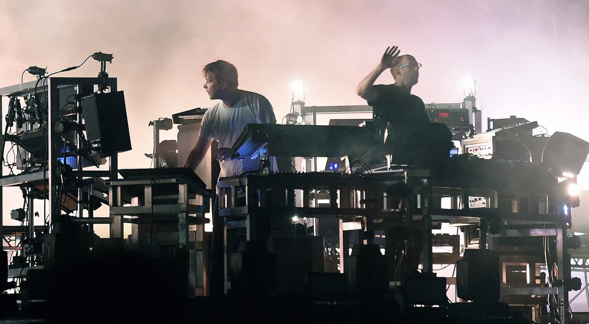 The Chemical Brothers na festiwalu Frequency w Austrii - sierpień 2015 rok
