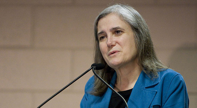 Amy Goodman na Green Festivalu w Chicago w 2010 roku