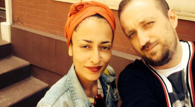 Zadie Smith i Michał Nogaś