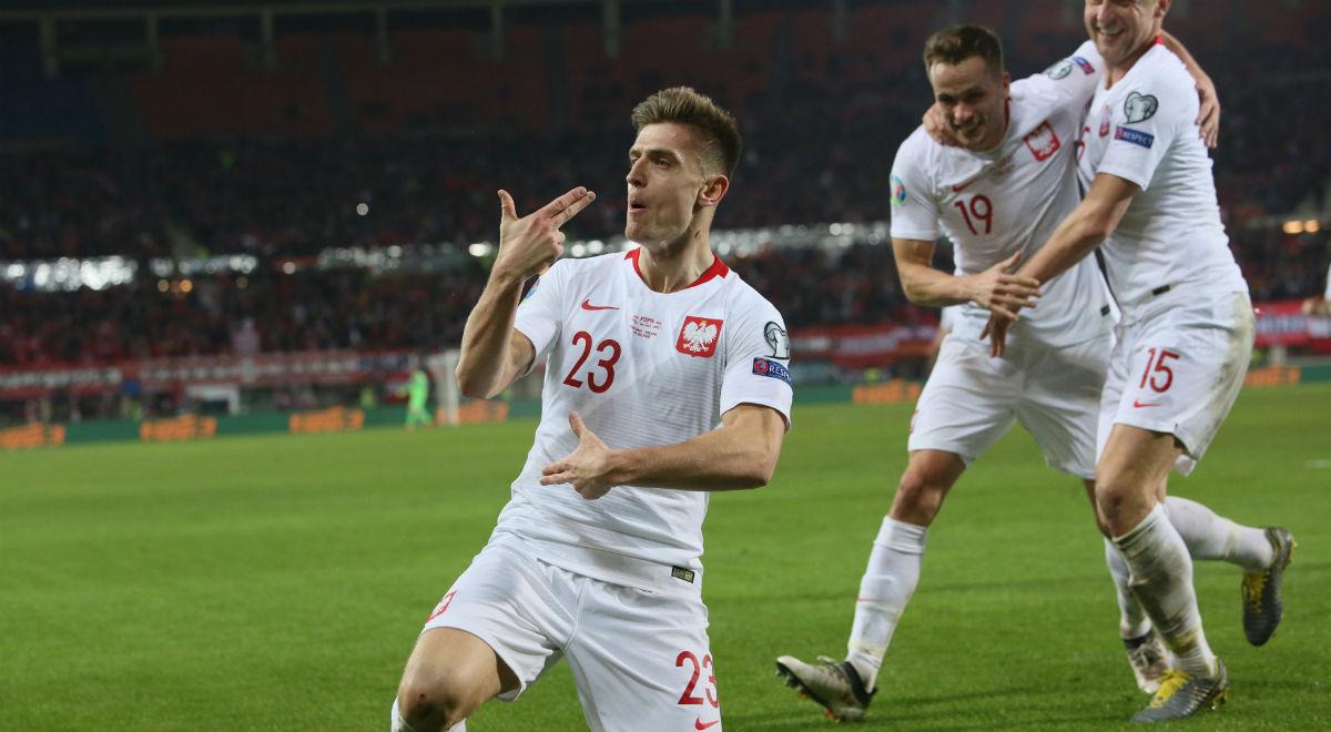 615207bec El. ME 2020. Austria - Polska: zwycięstwo biało-czerwonych. Piątek dżokerem  w talii Brzęczka - Wiadomości - polskieradio24.pl