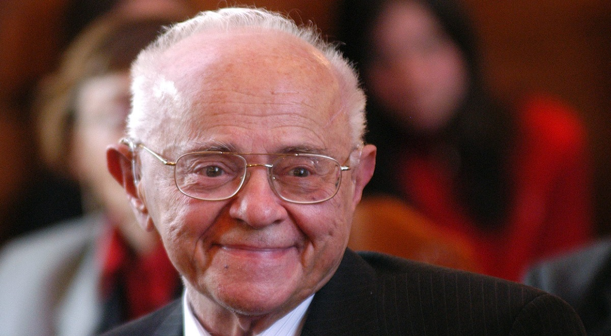 Stanisław Lem (1921-2006), pictured in May 2005.