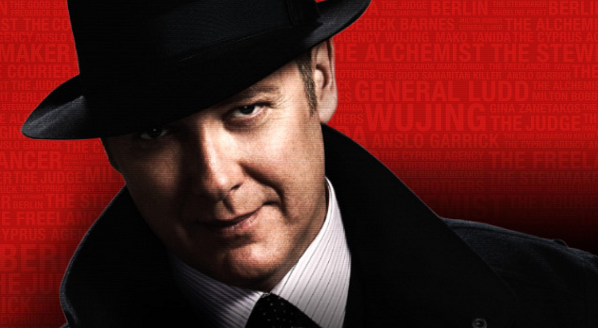 Plakat promujący serial The Blacklist
